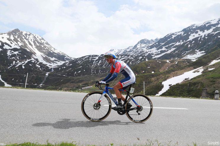 Vuillermoz kan Tour de France vergeten na zware valpartij in Zwitserland