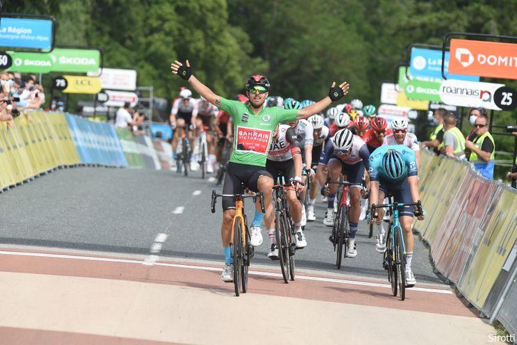 Colbrelli tankt vertrouwen in Dauphiné: 'Droom van de eerste Touretappe'
