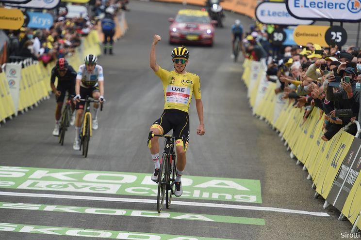 Pogacar kijkt uit naar kasseien, droomt van regenboogtrui en is 'geraakt' door uitspraak Merckx