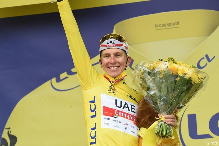 Klassementen Tour de France 2021: Pogacar heerst wéér met drie truien, Cavendish pakt groen