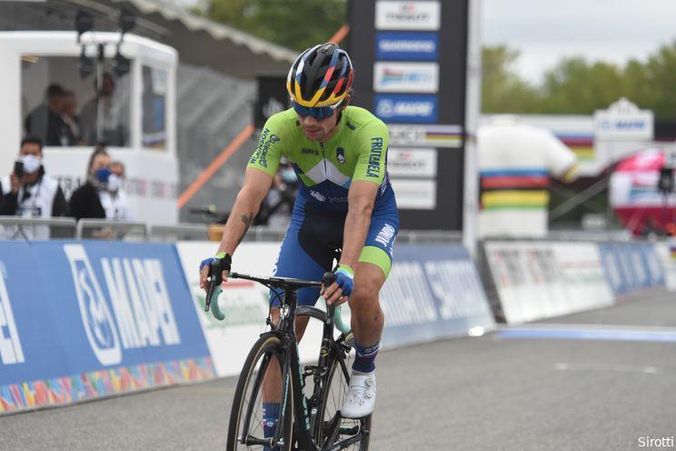 Roglic overal eerste, behalve bij de wegrit in Tokio: 'Ik zat te huilen op de fiets'