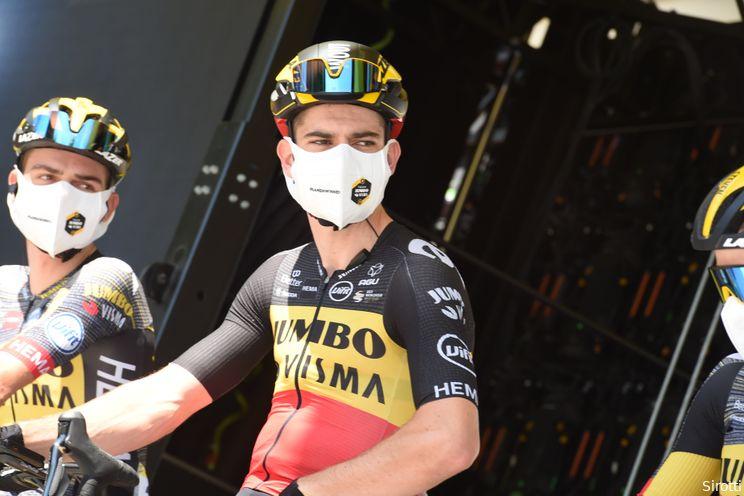 Van Aert pakt tweede etappezege in Tour of Britain: 'Ging helemaal over de limiet'