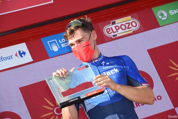 Verloofde Jakobsen durft nog niet te kijken naar Vuelta-sprints: 'Keek naar de herhaling'
