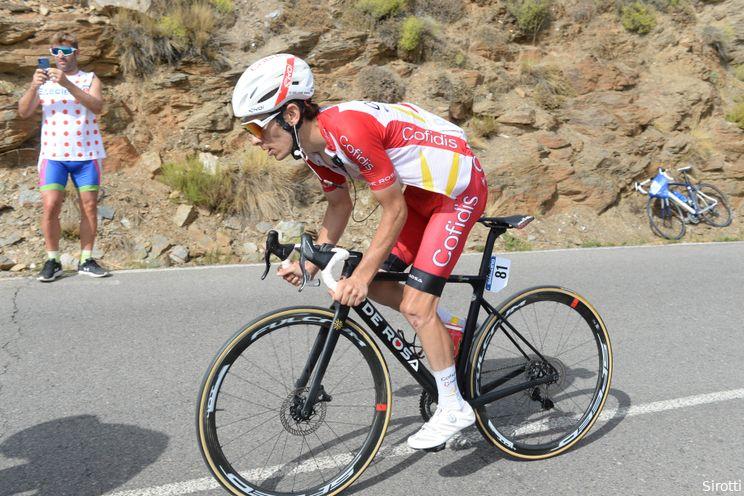 G. Martin vreest na valpartij: 'Niet optimistisch over rest van de Vuelta'