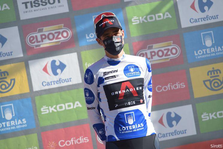Sivakov kon Vuelta-etappe niet winnen: 'Erg jammer dat mijn ketting eraf ging'