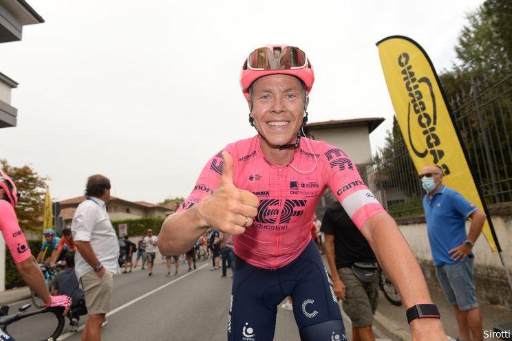 Valgren wint voor tweede dag op rij: 'Een mooie manier om van Colbrelli te winnen'