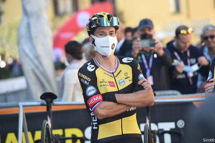 Favorieten Ronde van Lombardije   Grote club uitdagers wil Roglic van troon stoten in prachtkoers