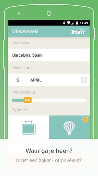 PackPoint-reisinpaklijst