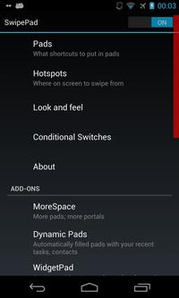 SwipePad - Hyperspace Launcher