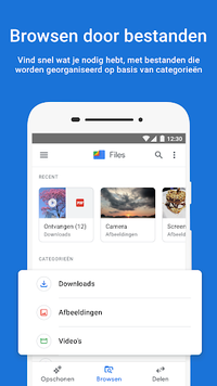 Files by Google: je telefoon opschonen