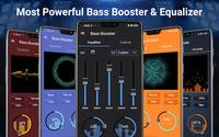 Muziekequalizer- volumewisselaar & basversterker