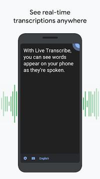 Live transcriptie