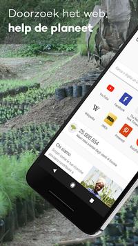 Ecosia - Bomen & Privacy
