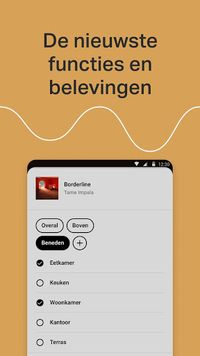 Sonos voor Android
