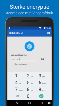 Wachtwoord Manager SafeInCloud