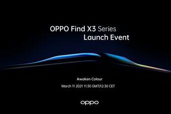 OPPO gaat zijn Find X3-serie op 11 maart aankondigen