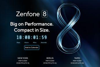 Asus Zenfone 8: compacte vlaggenschip wordt op 12 mei gelanceerd