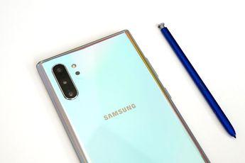 Samsung Galaxy Note 10 heeft vreemde fout met de S Pen