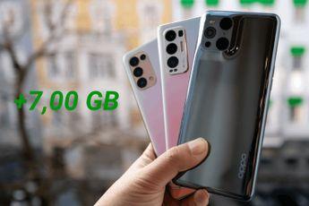 OPPO laat je nu zelf RAM uitbreiden op je telefoon tot 19 GB