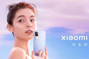 Xiaomi Civi officieel: dunne midrange telefoon, 55W oplader