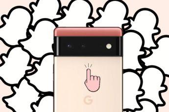 Snapchat: Google Pixel 6 en 6 Pro zijn beste 'Snapchat-phones' ooit