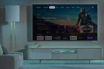 Komt de Chromecast met Google TV ook naar België?
