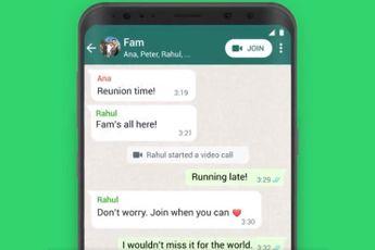 Zo neem je makkelijk deel aan een lopend WhatsApp videogesprek