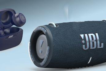 JBL stelt reeks bluetooth-speakers en volledig draadloze oortjes voor