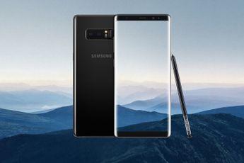 Samsung stopt met updates voor de Galaxy Note 8