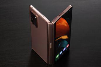 Is dit het ontwerp van de aanstaande Samsung Galaxy Z Fold 3?