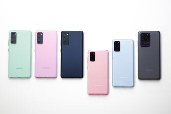 Uitrol One UI 3.1-update opnieuw van start voor de Samsung Galaxy S20 FE 5G