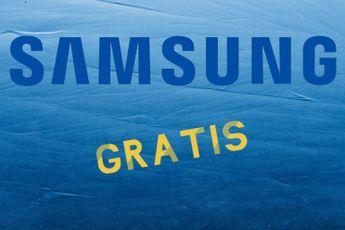 Actie: gratis accessoires bij Samsung-telefoons en -tablets