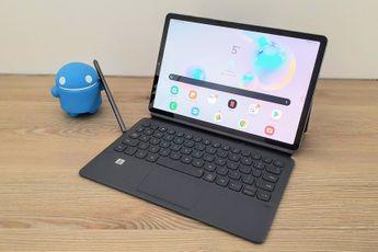 Samsung Galaxy Tab S6 review: van notitieboek naar laptop