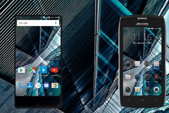 Archos lanceert 4 nieuwe Androidtelefoons: randloos, robuust en mid-end