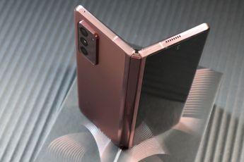 Samsung geeft Z Fold 2-klanten nu 100 dagen bedenktijd