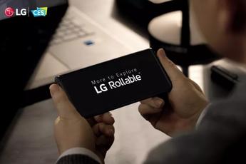'LG Rollable was klaar voor lancering, kreeg NFC-certificaat'