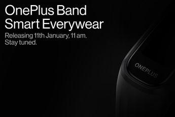 OnePlus Band wordt op 11 januari gelanceerd, dit zijn alle details