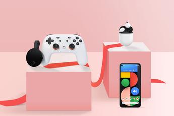 Valentijnsaanbieding: Google Pixel 4a 5G, Pixel Buds en Stadia Premiere Edition