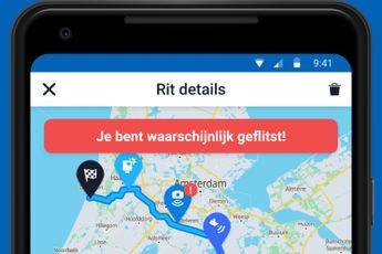 Flitsmeister voegt ritregistratie toe aan app