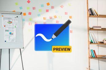 Microsoft Whiteboard is als preview beschikbaar voor Android