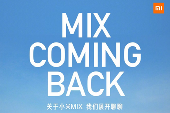 Xiaomi Mi Mix-toptoestel gelanceerd op 29 maart, vouwbare telefoon?