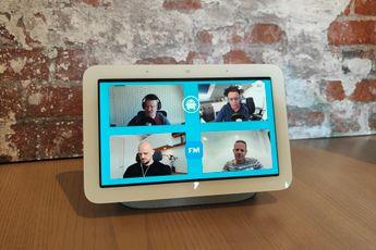 Google ontwikkelt gebaar om door foto's te bladeren op Nest Hub 2