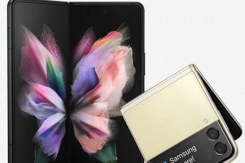 Dit zijn de Samsung Galaxy Z Fold 3 en Z Flip 3 op de nieuwste persafbeeldingen