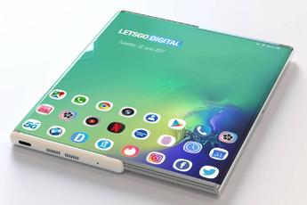 'Dit is Samsungs telefoon met oprolbaar en randloos scherm'