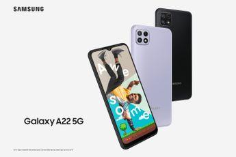 Samsung Galaxy A22 5G officieel: betaalbare 5G-telefoon met grote accu