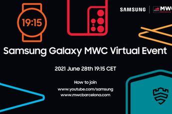 Samsung kondigt virtueel evenement aan op Mobile World Congress