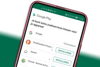 Google op het matje geroepen, nu keuze uit 12 zoekmachines in Android