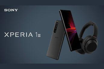 Sony Xperia 1 III is deze maand te bestellen voor 1299 euro