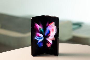 Samsung Z Fold 3 overtreft nu al verkoop van voorganger