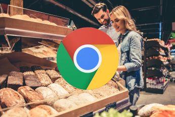 Google werkt aan nieuw boodschappenlijstje in Chrome
